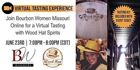 Bourbon Women Missouri - Virtual Tasting Experience with Wood Hat Spirits biglietti
