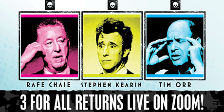 3 FOR ALL Improv Live on Zoom! tickets