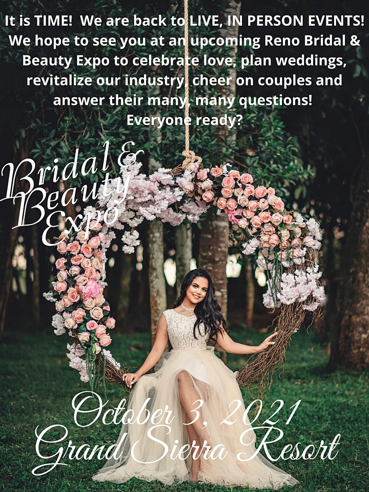 Reno Bridal & Beauty Expo, October 3, 2021, Grand Sierra Resort image