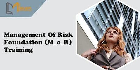 Management of Risk Foundation (M_o_R) Virtual Training in Guadalajara entradas