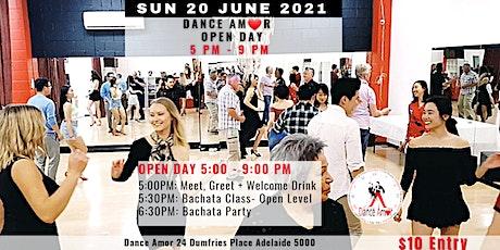 Bachata Class & Social Dancing - Dance Amor Open Day Sun 20 June 5 PM tickets