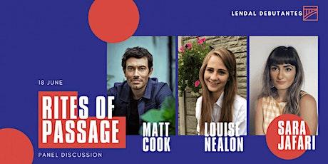 Lendal Press Debutantes – Matt Cook, Louise Nealon & Sara Jafari tickets