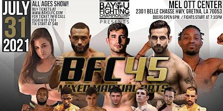 BFC 45 | Battle of New Orleans | MMA Event - Mixed Martial Arts Gretna, LA tickets