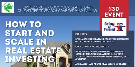How To Start and Scale In Real Estate Investing tickets