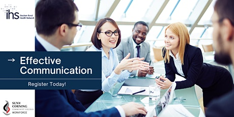 Effective Communication Course tickets