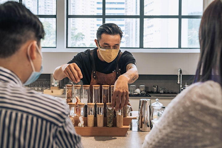 Mox Masterclass: Gin Tasting with Kit Cheung image