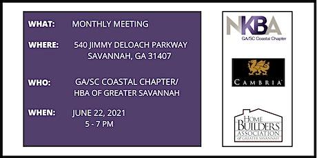 Ga/SC Coastal NKBA Chapter/HBA of Greater Savannah's Monthly Meeting tickets