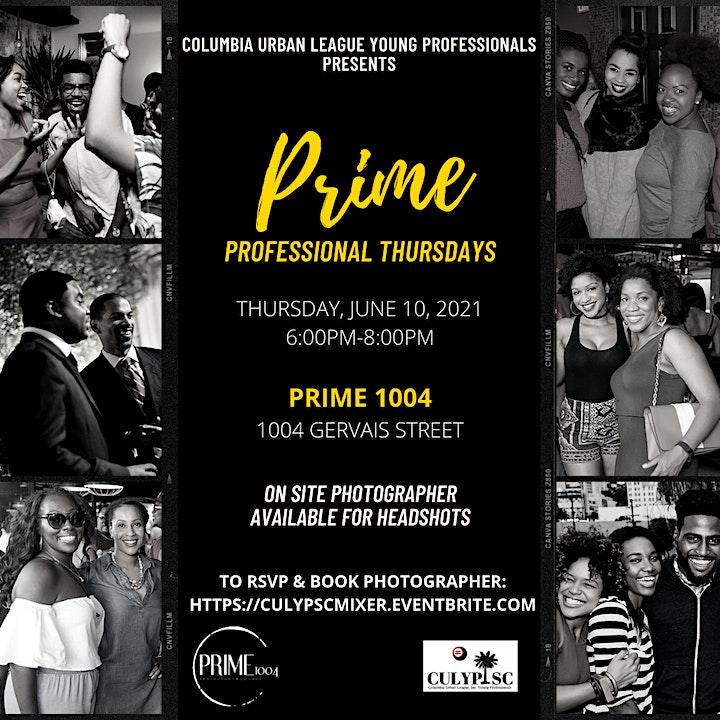 Prime Professional Thursdays: Young Professional Mixer image