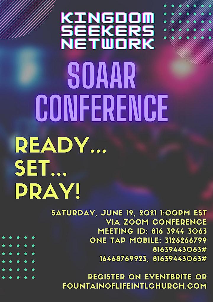 SOAAR Prayer Conference 2021 image