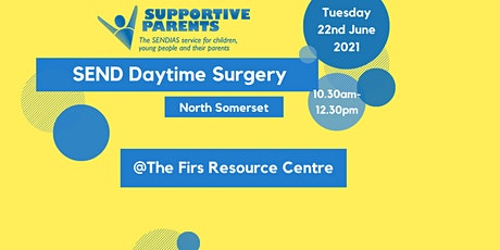 NS SEND Surgery, Tuesday 22nd June, from 10.30am - 12.30pm tickets