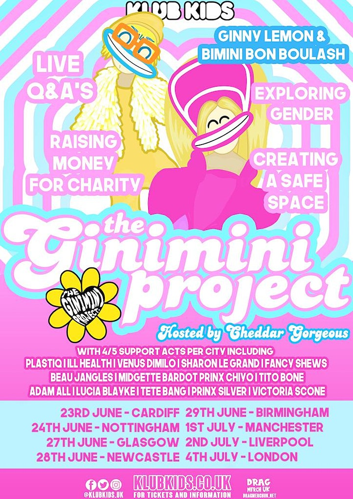 KLUB KIDS MANCHESTER PRESENTS THE GINIMINI PROJECT (Ages 14+) image
