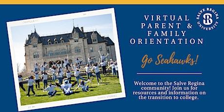 Virtual Salve Regina University Parent & Family Orientation tickets