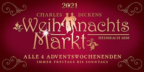 Charles Dickens Weihnachtsmarkt Heimbach 2021 Tickets