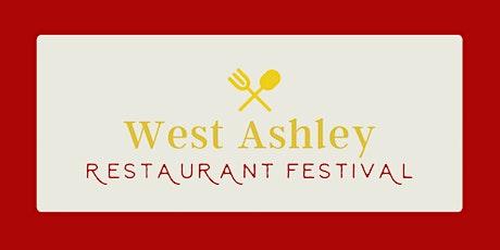 3rd Annual West Ashley Restaurant Festival tickets