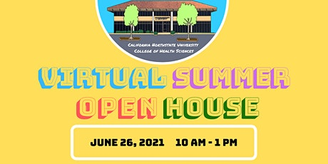 CNU College of Health Sciences Virtual Summer Open House tickets