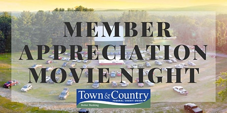 Town & Country FCU Member Drive-in Movie -- The Croods 2: A New Age tickets