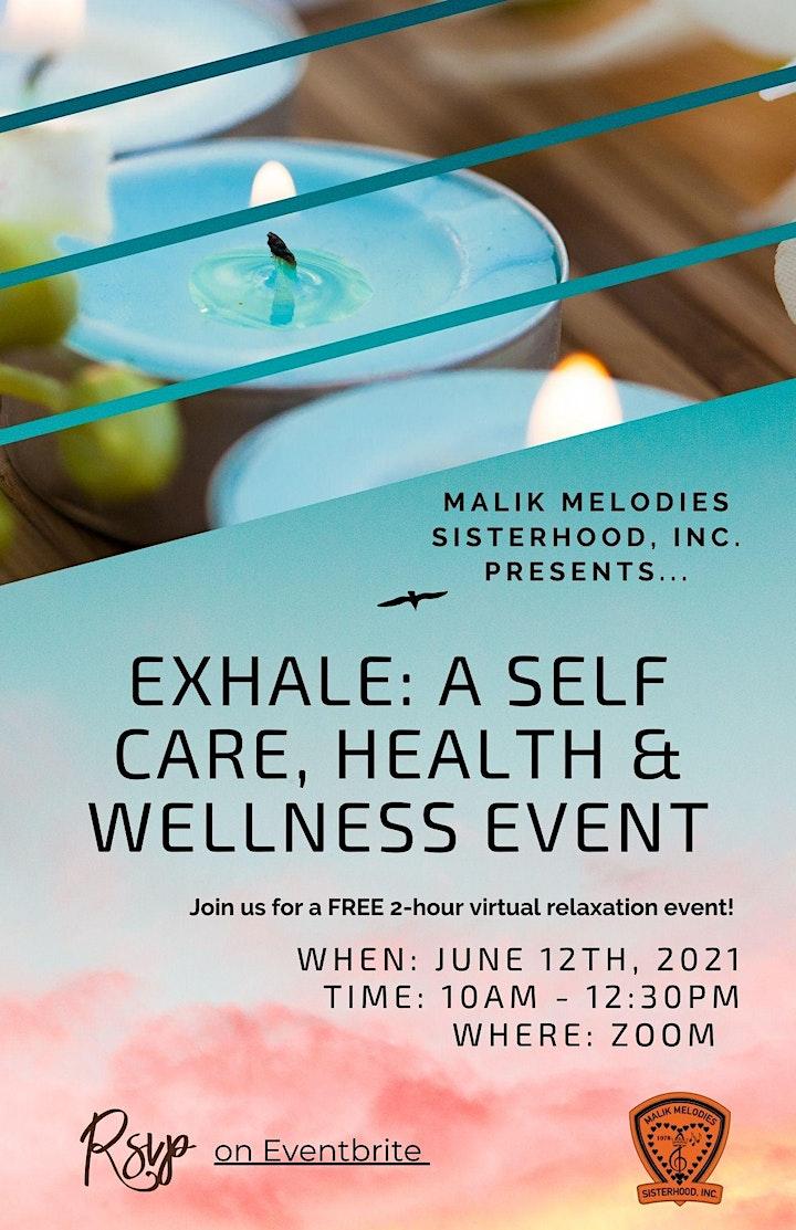 EXHALE: A WELLNESS EVENT image