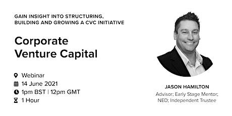 Corporate Venture Capital tickets