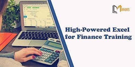 High-Powered Excel for Finance 1 Day Training in Merida boletos