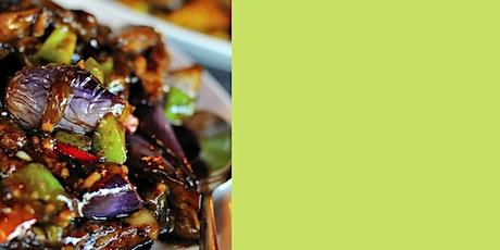 Chinese Cooking: Aubergine Stir Fry Workshop tickets