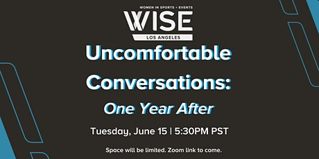Uncomfortable Conversations: One Year After tickets
