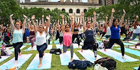 Bryant Park Yoga tickets
