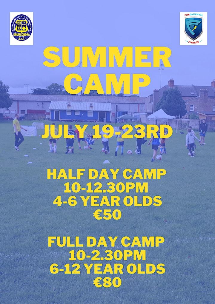 Drumcondra AFC July Football Camp image