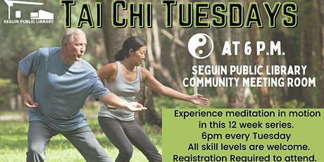 Tai Chi Tuesdays tickets