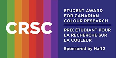 CRSC Student Award Talks biglietti