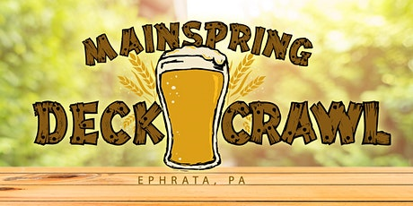 2021 Mainspring Deck Crawl tickets