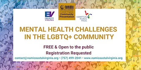 Mental Health  Challenges  in the LGBTQ+ Community tickets
