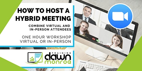 How to Host Hybrid Meetings tickets