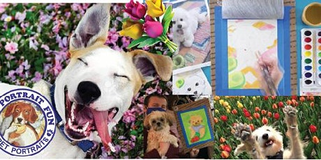 Pet Portrait Fun Paint Party  with your DOG- Barking Dog New York tickets