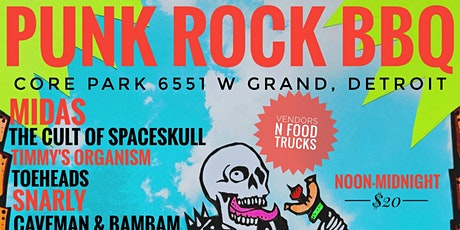 THE FOURTH ANNUAL PUNK ROCK BBQ AT CORE PARK tickets