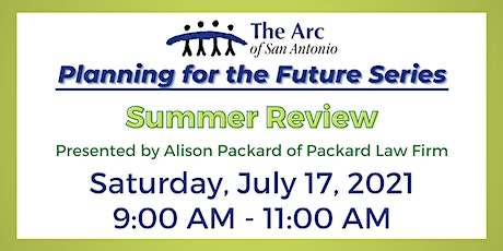 Planning for the Future Series -  Summer Review tickets
