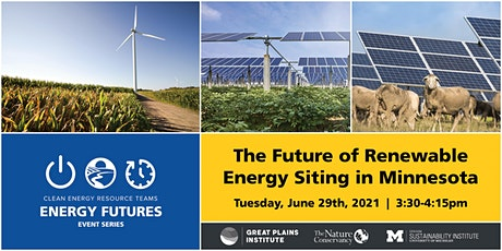 The Future of Renewable Energy Siting in Minnesota tickets