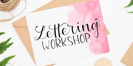 Workshop Handlettering & Brushlettering / Christmas Lettering / Frankfurt Tickets