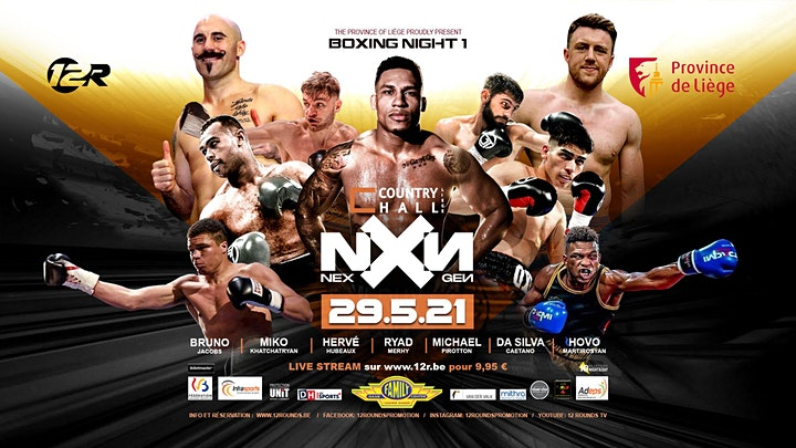 Image pour Province de Liège Boxing Night NXN - 29/5/2021