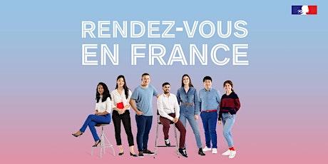 Partir étudier en France du bon pied ! - Priprave na študij v Franciji tickets