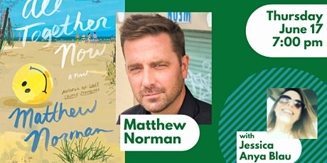 Author Event with Matthew Norman and Jessica Anya Blau tickets