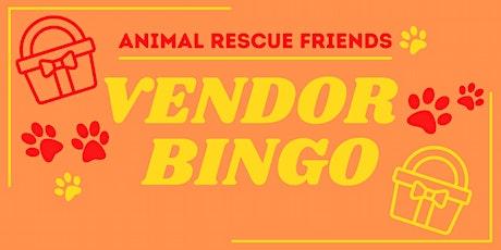 ARF Vendor Bingo tickets