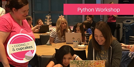 Coding & Cupcakes | July | Python Workshop Tickets
