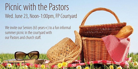 First-Plymouth Church: Picnic with the Pastors tickets