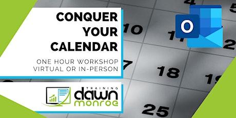 Conquer Your Calendar tickets