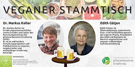 Veganer Stammtisch: Warum einweichen, keimen, fermentieren? Prakt. Tipps Tickets