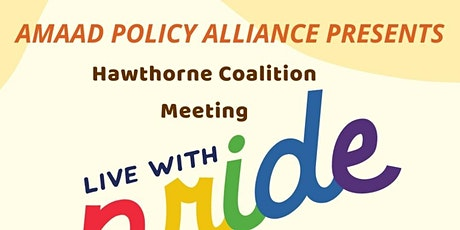 Hawthorne Coalition Meeting: Tobacco Free Pride tickets