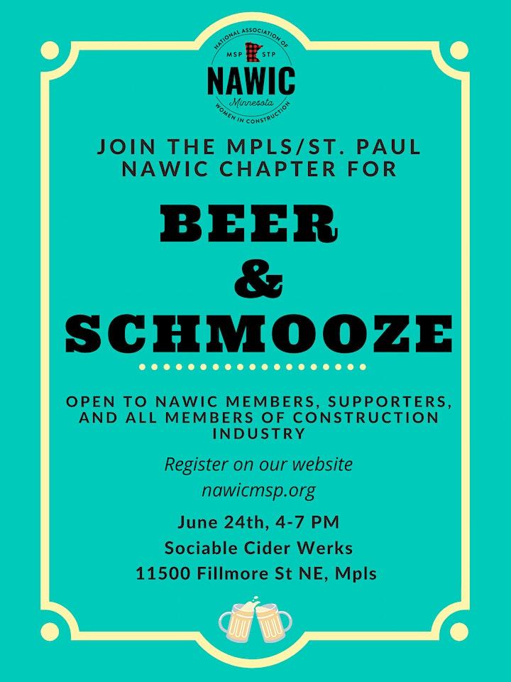 NAWIC Beer and Schmooze 2021 image