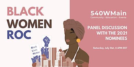 Black Women ROC! Virtual Panel tickets
