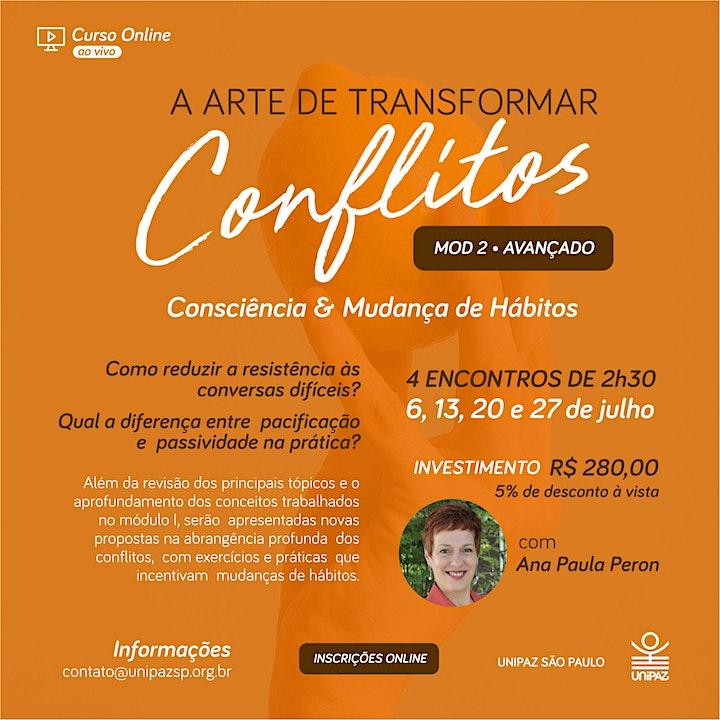 Imagem do evento Curso Online - A Arte de Transformar Conflitos em Oportunidades II