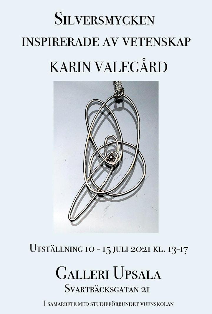Karin Valegård - Silversmycken inspirerade av vetenskap bild